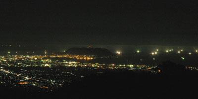 七つ星夜景